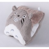 Wholesale - Cartoon Square Face Totoro Hand Warming Stuffed Pillow