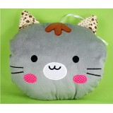 Wholesale - Cartoon Tabby Cat Hand Warming Stuffed Pillow