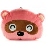 Wholesale - Cartoon Racoon Hand Warming Stuffed Pillow
