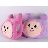 Wholesale - Cartoon Monchhichi Hand Warming Stuffed Pillow
