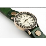 Wholesale - Stylish Roamer Retro Bronze Watch with Round Watch Dail