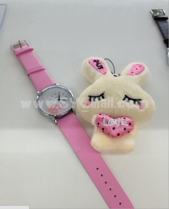 Stylish Korea Girls Round Watch Dail Watch
