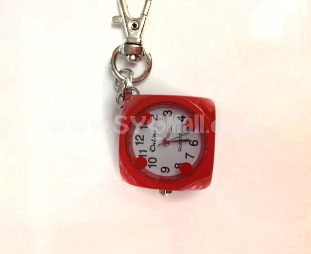Stylish Personalize Dice Shape Watch