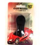 Wholesale - Cartoon Shape 4-in-1 USB Memory Card Reader