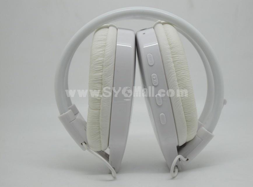 WST-365 plug-in card designed MP3 FM wireless headphone