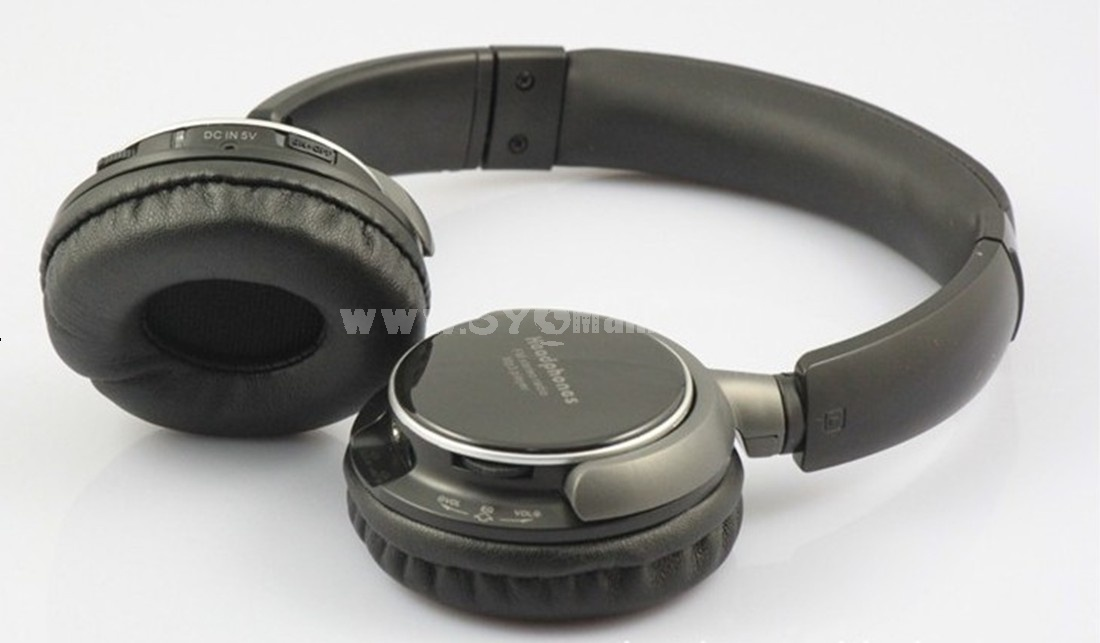 Stereo bluetooth TF MP3 FM headphone BT-9001