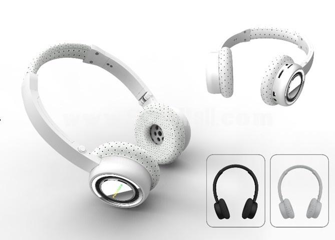 Plug-in card designed MP3 FM wireless headphone QC-18