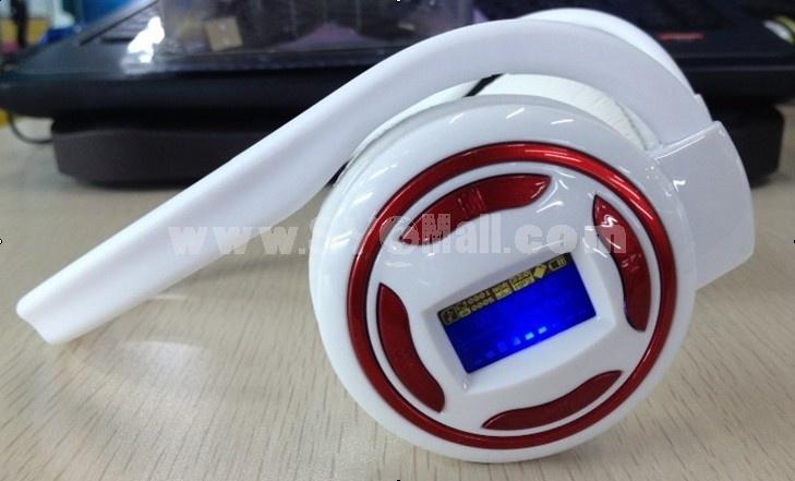 Plug-in card designed MP3 FM wireless headphone R05-1