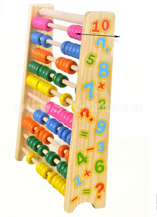 Children Souptoy Wooden Abacus Frame