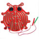 Wholesale - Educational Magnetic Maze Toy for Children, Ladybug