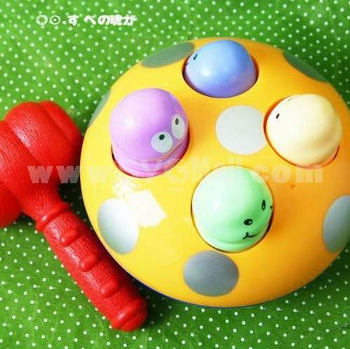 Children Educational Mushroom Animal Knock Table Toy