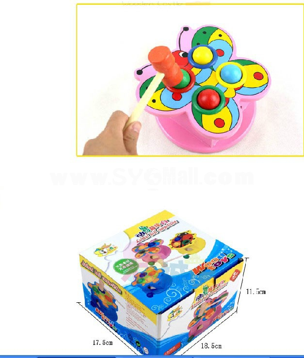 Children Educational Animal Knock Table Toy