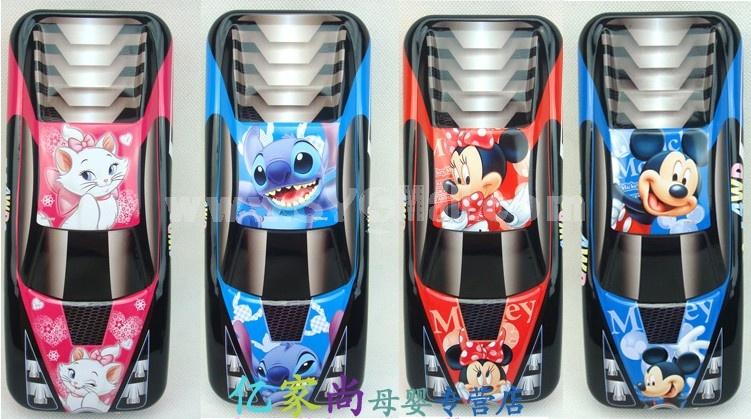 Disney New Arrival Car Shape Three Layered Pencil Cases