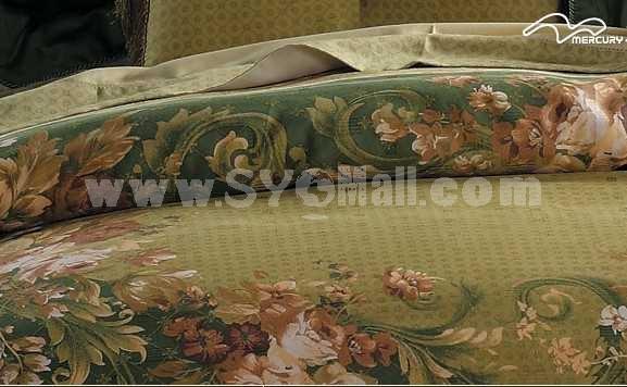 Mercury 4PCs Comfortable Flora Pattern Warm Keeping Cotton Beddings