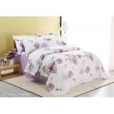 Wholesale - Mercury 4PCs Comfortable Flora Pattern Warm Keeping Cotton Beddings