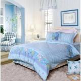 Wholesale - MENDALE 4PCs Comfortable Flora Pattern Warm Keeping Cotton Beddings