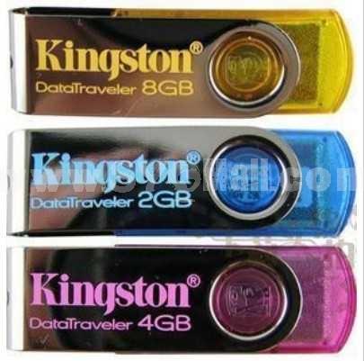 Kingston DataTraveler DT101 Metal Rotary USB (32G)