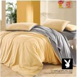 Wholesale - PLAYBOY 4 piece plain color bedding set