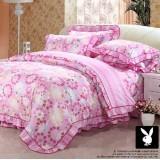 Wholesale - PLAYBOY 4 piece dream word Korean style bedding set