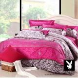 Wholesale - PLAYBOY 4 piece pure cotton bedding set