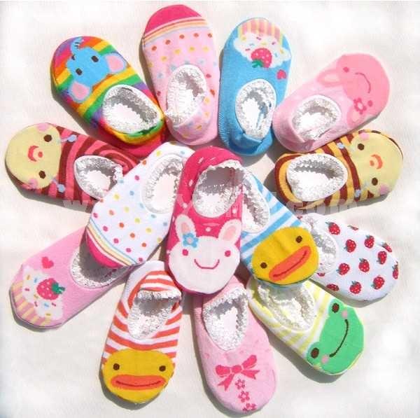 New Arrival Baby Cartoon Antislip Floor Socks