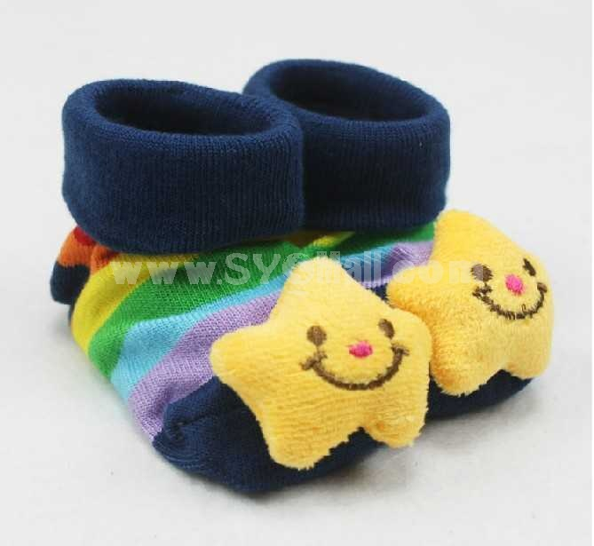 Neonate Cartoon  Cute Cooton Socks