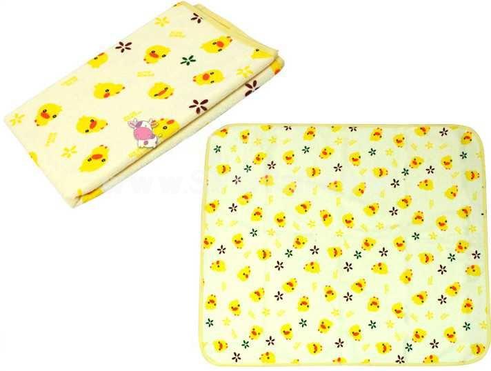 Children Cartoon Durable Multifunction Cotton Urine Proof Bed Sheets 3PCs