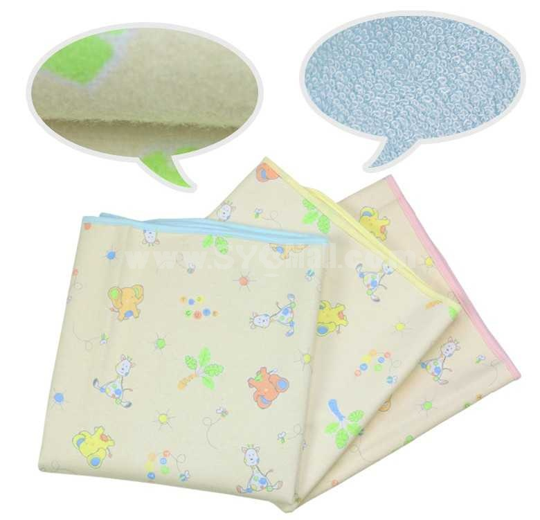 Children Durable Multifunction Bamboo Fibre Thicken Urine Proof Bed Sheets