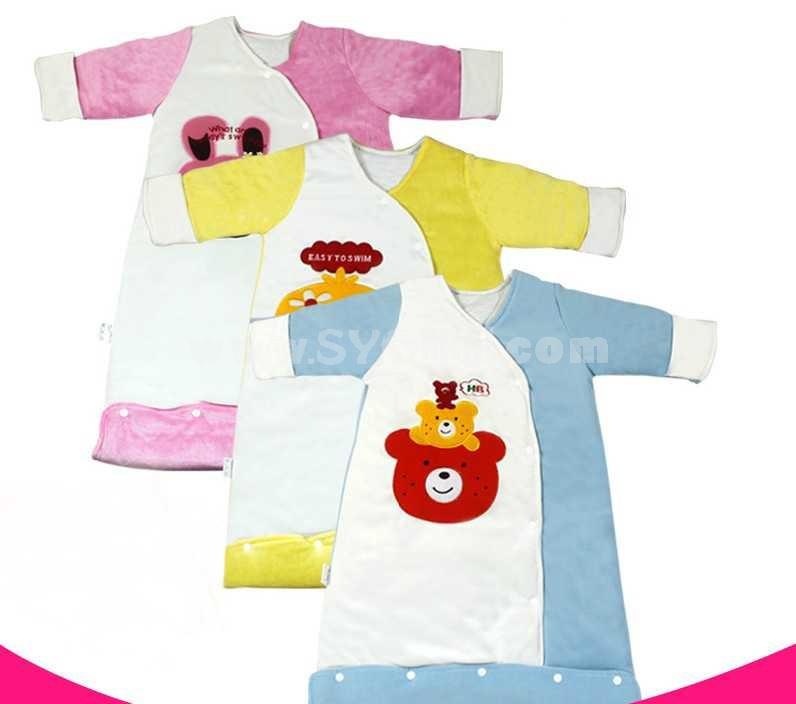 Cotton Facial Velvet Baby Sleeping Bags