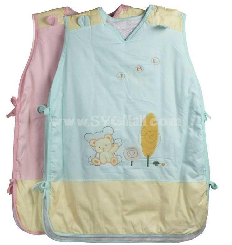 Cute Cartoon Solid Color Baby Sleeping Bags
