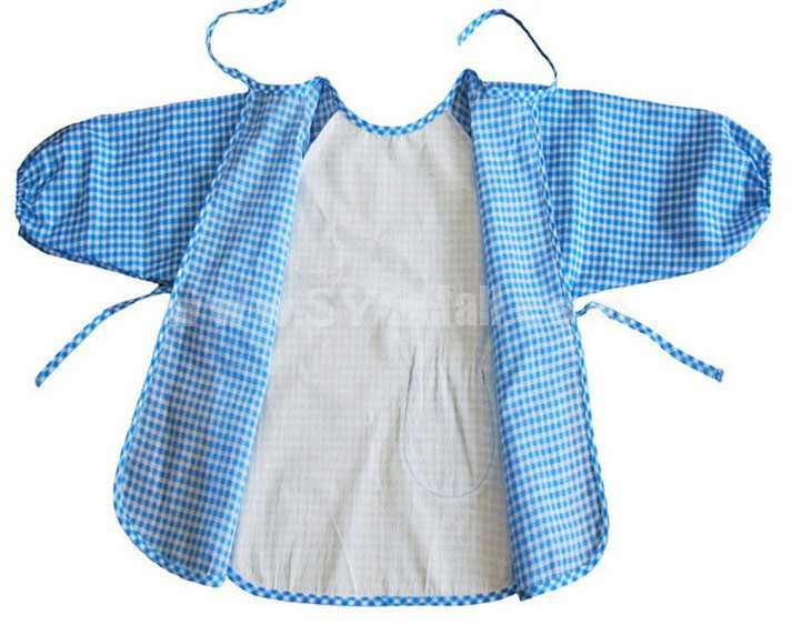 Lovely Cotton Waterproof Overclothes Baby Tops