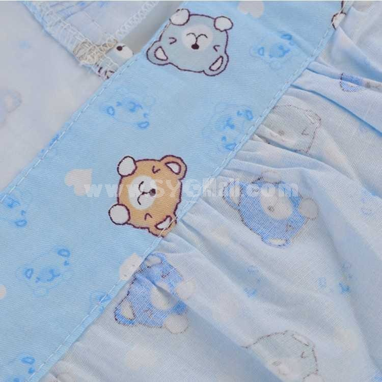 Lovely Cartoon Cute Cotton Waterproof Overclothes Baby Tops