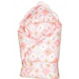 Wholesale - Winter Cartoon Girds Style Cotton Infant Wrap
