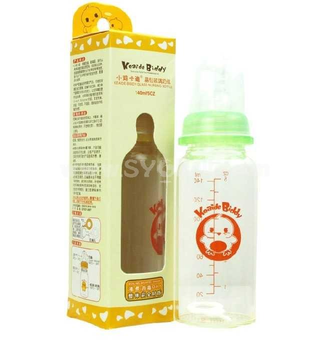 Keaide Biddy Glass Nursing Bottle 140ML