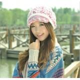Wholesale - Women's acrylic knitted wart hat
