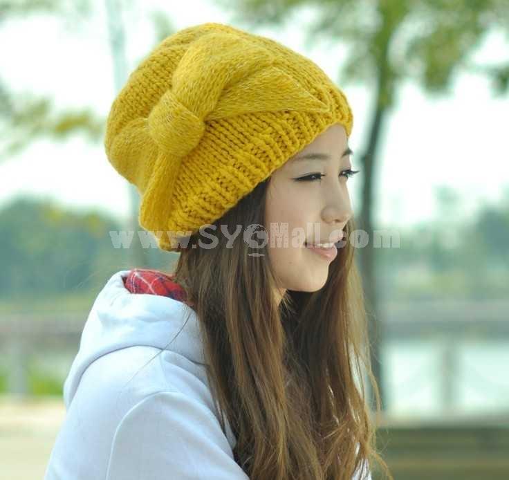 Fashion Korean style knitted warm hat