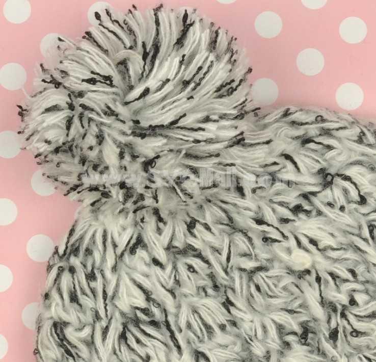 Korean style knitted winter warm hat