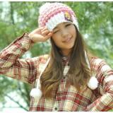 Wholesale - Fashion academism braids knitted warm hat