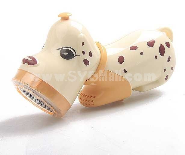 Cartoon Spotty Dog Shape Electric Charging Fabric Lint Remover 506