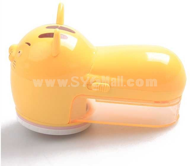 Cartoon Tiger Shape Electric Charging Fabric Lint Remover 6662