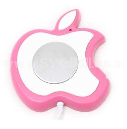 Stylish Apple Shape Electronic Warmer/USB Warmer