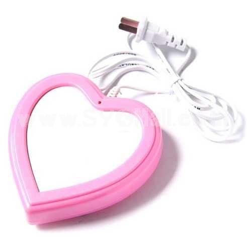 Stylish Heart Shape Electronic Warmer/USB Warmer