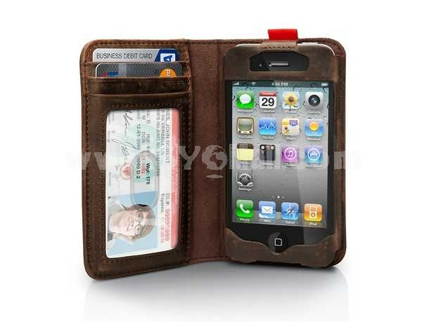 Gorgeous Retro Book Pattern Protective Case for iphone 4/4S