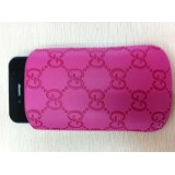 Wholesale - Leather Pattern Protective Case for iphone 4/4S