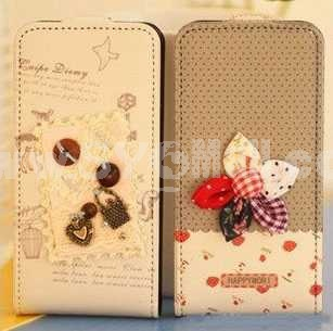 Korea Lovely Pattern Protective Case for iphone 4/4S