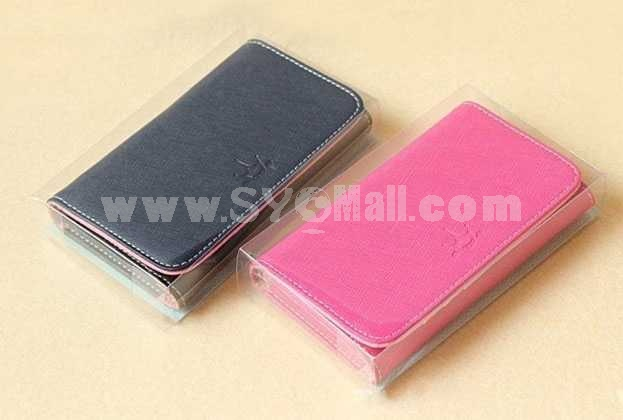 Wallet Pattern Protective Case for iphone 4/4S