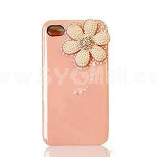 Daisy Pearl Handmade Protective Case for iphone4/4s