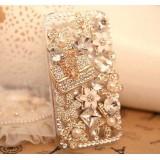 Wholesale - Handmade Stylish Rhinestone Case for iPhone 4/4s
