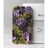 Wholesale - Translucent Leaf  Case for Pihone 4/4s