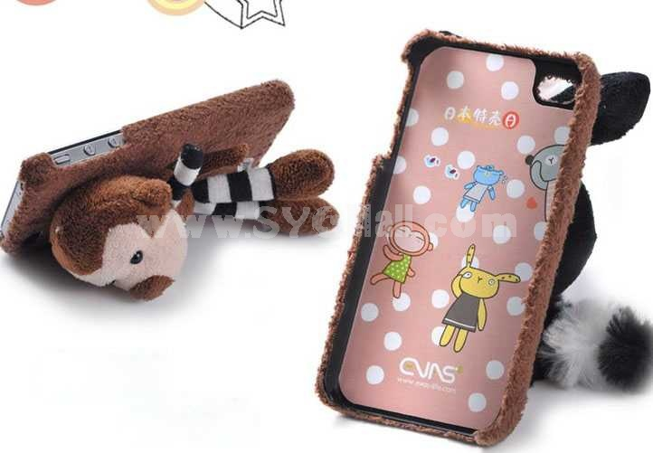 Lovely Lint Love Rabbit Protective Case for iphone4/4s